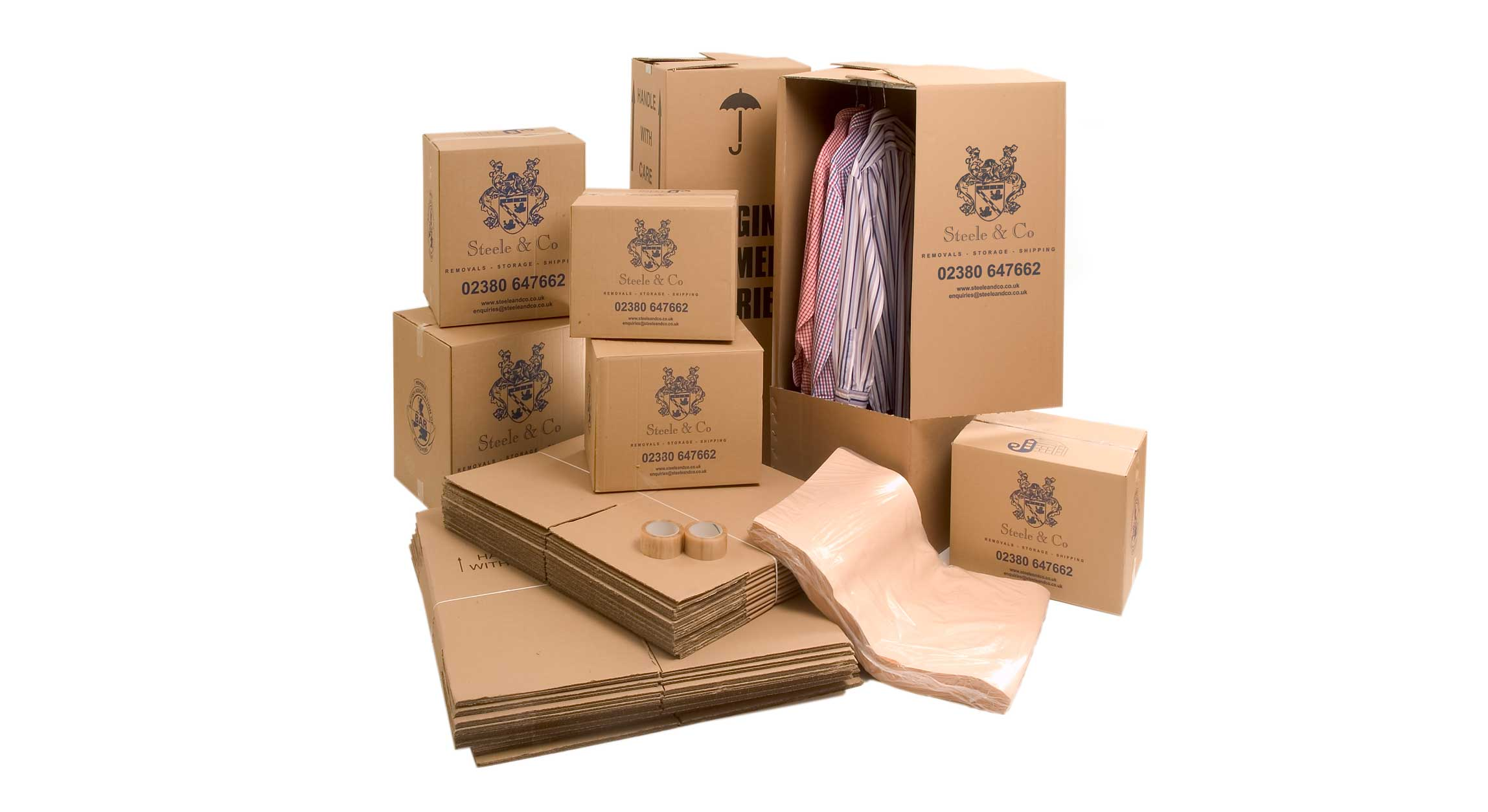 Packing Boxes for removals