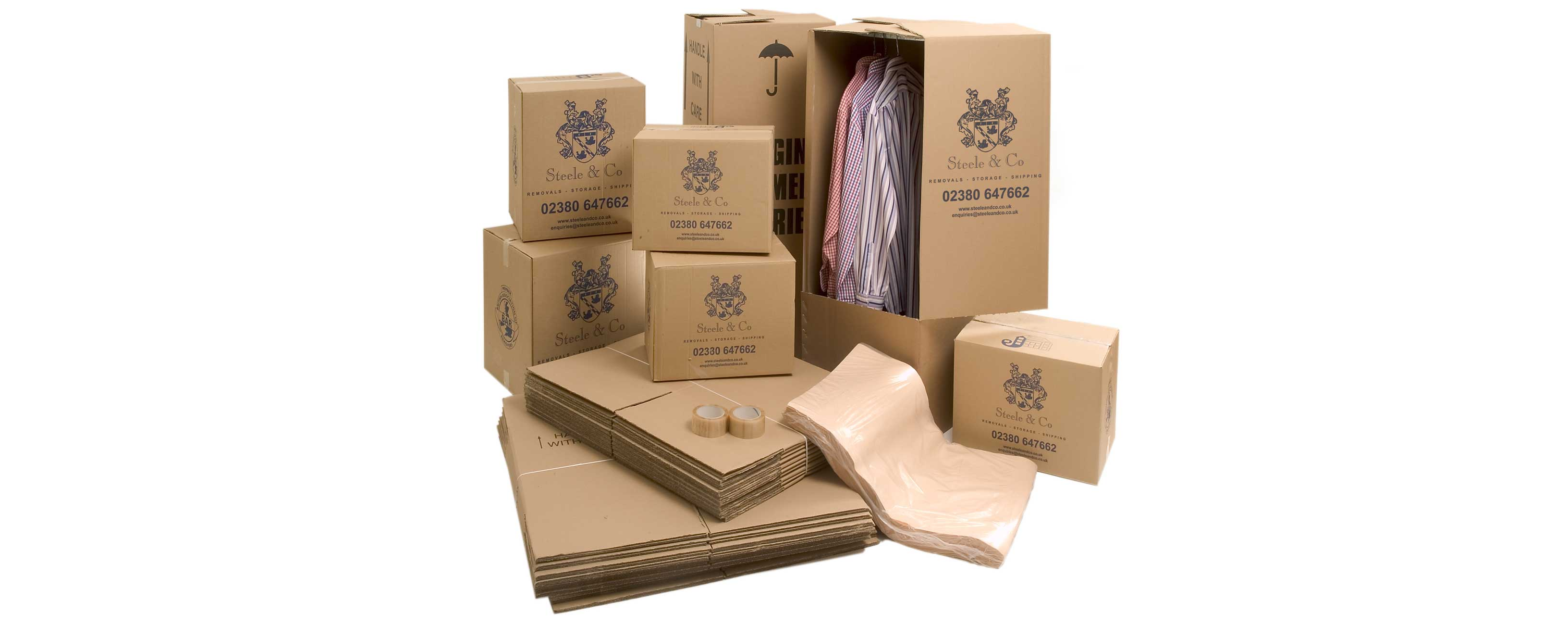 Removal Boxes for House moves